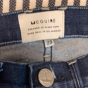 McGuire Majorelle Flare Jeans, size 29.